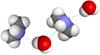 Водородная связь между молекулами воды