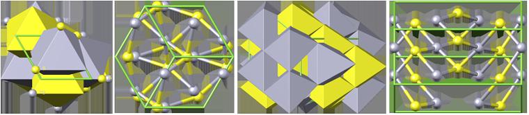 cinnabar crystal structure, кристаллическая структура киновари, киноварь, cinnabar