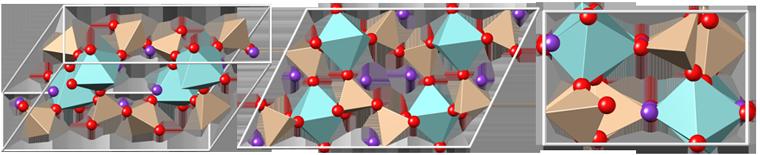 khibinskite crystal structure, кристаллическая структура хибинскита, Хибинскит, khibinskite