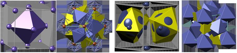 пирит, кристаллическая структура пирита, pyrite crystal structure