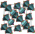 pyrochlore, пирохлор, crystal structure