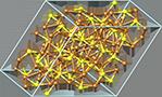 Chalcocite crystal structure, кристаллическая структура халькозина