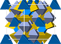 Daubreelite crystal structure, кристаллическая структура добреелита