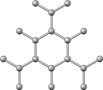 graphite crystal structure, кристаллическая структура графита