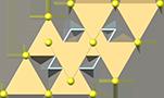 Greenockite crystal structure, кристаллическая структура гринокита