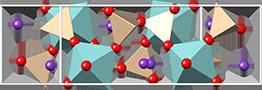 Khibinskite crystal structure, кристаллическая структура хибинскита