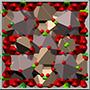garnet crystal structure, кристаллическая структура граната